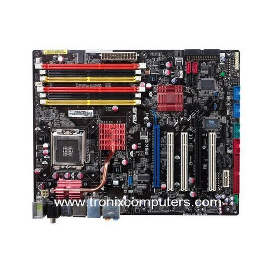 ASUS P5KC AiLifestyle Series - Motherboard - ATX - iP35 - LGA775 Socket - UDMA133, Serial ATA-300 (RAID), eSATA - Gigabit Ethernet - FireWire - High Definition Audio (8-channel)