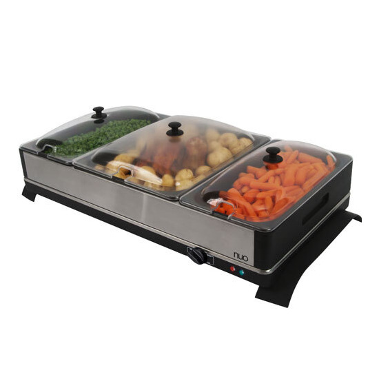 Nuo Buffet Server and Warming Tray