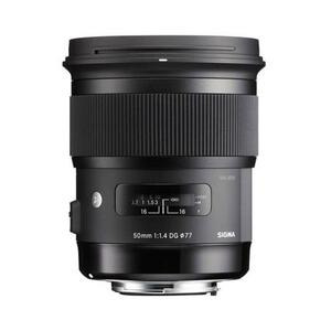 Photo of Sigma 50MM F/1.4 DG HSM - Canon Fit Lens
