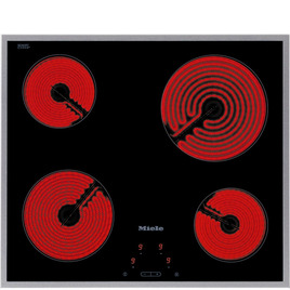 Miele KM 5600 Electric Ceramic Hob - Black