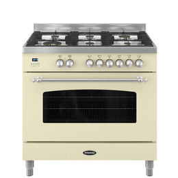 Britannia Fleet 90 Single Dual Fuel Range Cooker - Matte Cream