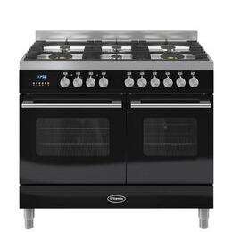 Britannia Delphi 100 Twin Dual Fuel Range Cooker - Gloss Black