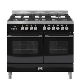 Britannia Delphi 100 Twin Dual Fuel Range Cooker - Gloss Black