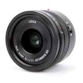 Panasonic Leica DG Summilux h-x015e 15mm F1.7 ASPH