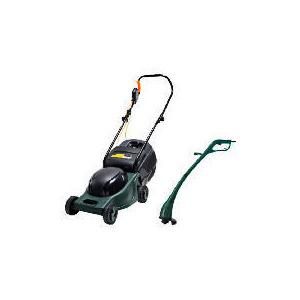 Photo of Power Force Lawnmower & Grass Trimmer Twinpack Garden Equipment