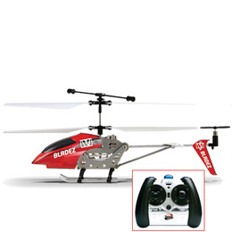 Bladez Metal RC 3 Channel Helicopter - Red Reviews
