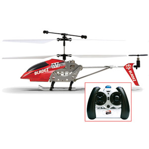 Photo of Bladez Metal RC 3 Channel Helicopter - Red Toy
