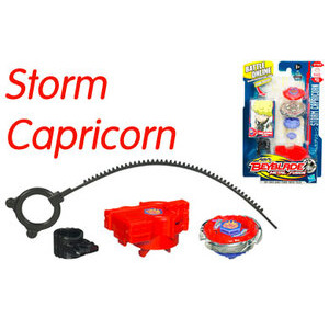 Photo of Beyblade Metal Fusion Storm Capricorn Top Toy