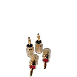 Ixos 204  Dual Entry 4mm Gold Plated Banana Plugs Reviews