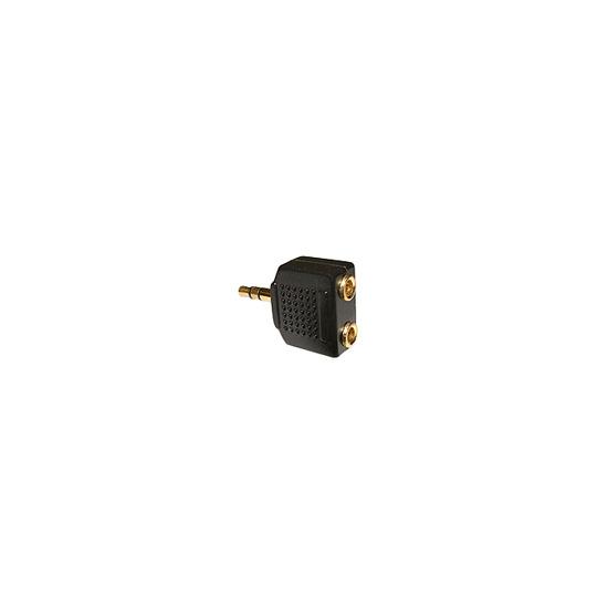 Stereo 3.5mm Jack Splitter - Gold Plated