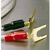 Photo of Ixos 207 Gold Plated Spade Terminals Adaptors and Cable