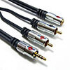 Photo of Fisual Connection Kit, 3.5MM Jack To 2 X RCA + 2 X RCA Adaptors and Cable