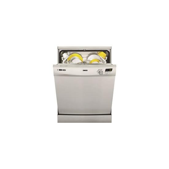 Zanussi ZDF14001SA Full-siZanussi Ze Dishwasher - Silver