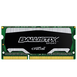 Ballistix Sport Series DDR3 Laptop Memory - 4 GB SODIMM RAM Reviews