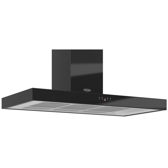 Britannia Arioso K7088A10K Chimney Cooker Hood - Gloss Black