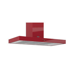 Britannia A K7088A10R Chimney Cooker Hood - Gloss Red