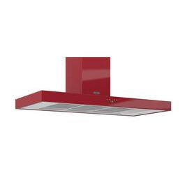 Britannia Arioso K7088A11R Chimney Cooker Hood - Gloss Red