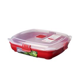 Rectangular 0.88-litre Microwave Plate Reviews
