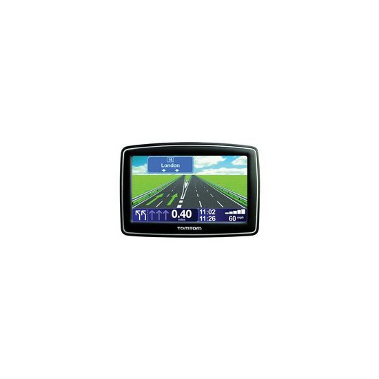 TOMTOM xl live iq routes edition gps sat nav system