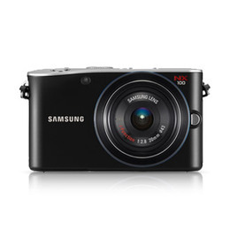 Samsung NX100 with 20mm lens