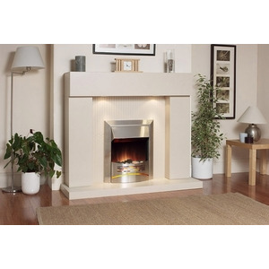 Photo of Katell Durban Electric Fire Suite Electric Heating