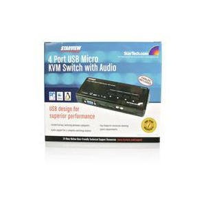 Photo of Startech SV411KUSB Network Switch