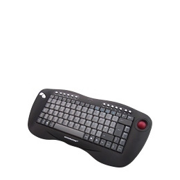 Ceratech Accuratus KYB-TOUGHBALL - Keyboard - wireless - RF - trackball - USB wireless receiver Reviews