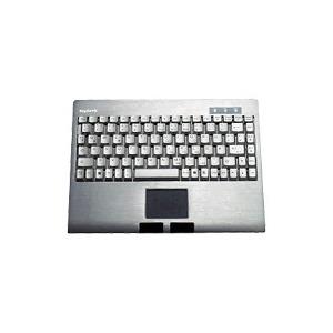 Photo of Keysonic ACK-540 ALU - Keyboard - PS/2 - 89 Keys - Touchpad Keyboard
