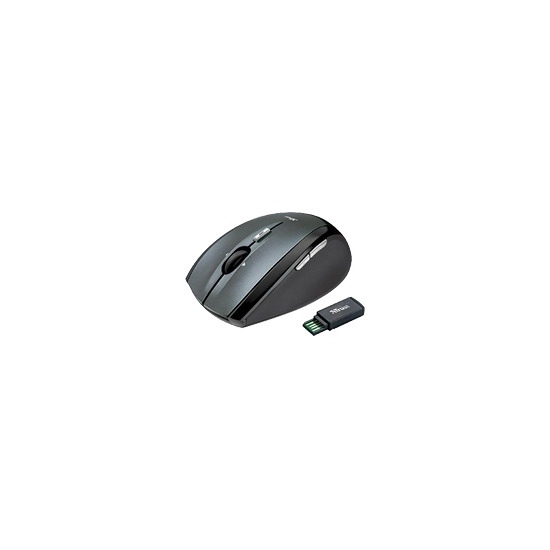Trust Wireless Optical Mini Mouse MI-4930Rp - Mouse - optical - wireless - RF - USB wireless receiver