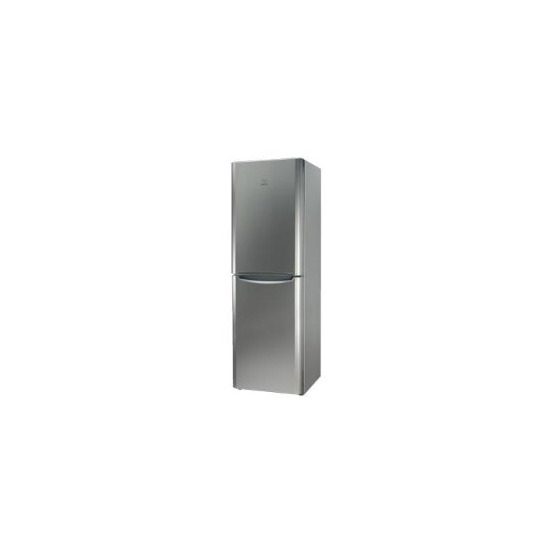 Indesit BIAA134PX Free Standing Fridge Freezer Stainless Steel