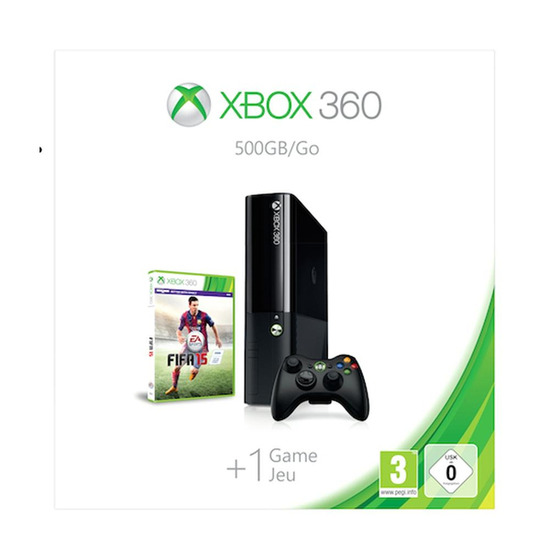 Xbox 360 with FIFA 15