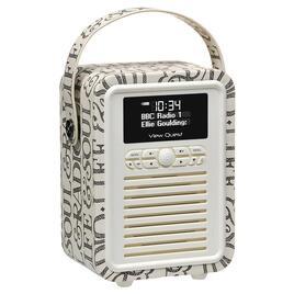 View Quest Emma Bridgewater Retro Mini DAB+/FM Radio with Bluetooth Reviews