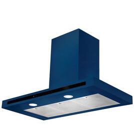 Hi-LITE 90 Chimney Cooker Hood - Monaco Blue
