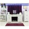 Photo of Baumhaus CWR06C Hampton Twin Pedestal Computer Desk