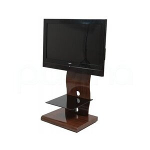 Photo of Iconic UKGL510 Curved Walnut Cantilever TV Stands and Mount