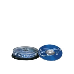 TDK - 10 x DVD+R - 4.7 GB 16x - spindle - storage media Reviews