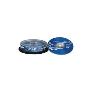 Photo of TDK - 10 X DVD+R - 4.7 GB 16X - Spindle - Storage Media DVD RW