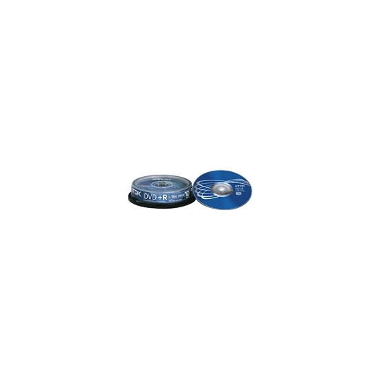 TDK - 10 x DVD+R - 4.7 GB 16x - spindle - storage media