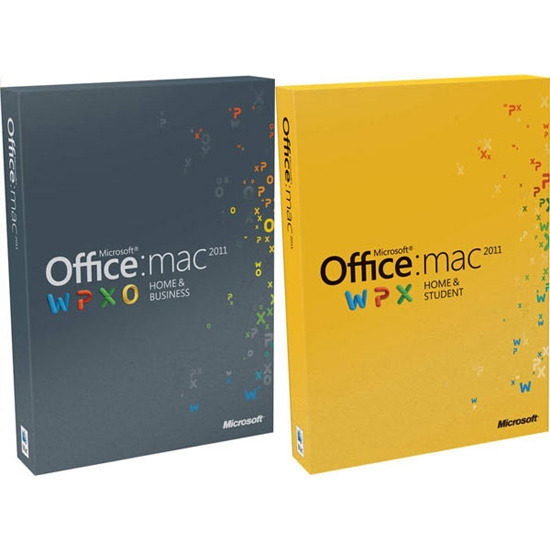 Microsoft Office 2011 - Home & Student (Mac)