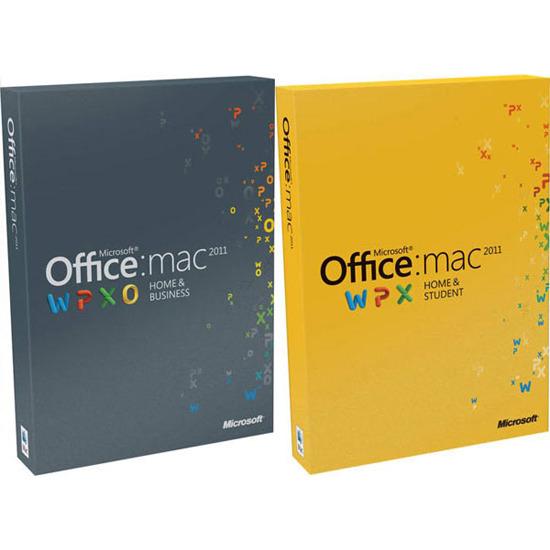 Microsoft Office 2011 - Home & Student (Mac)