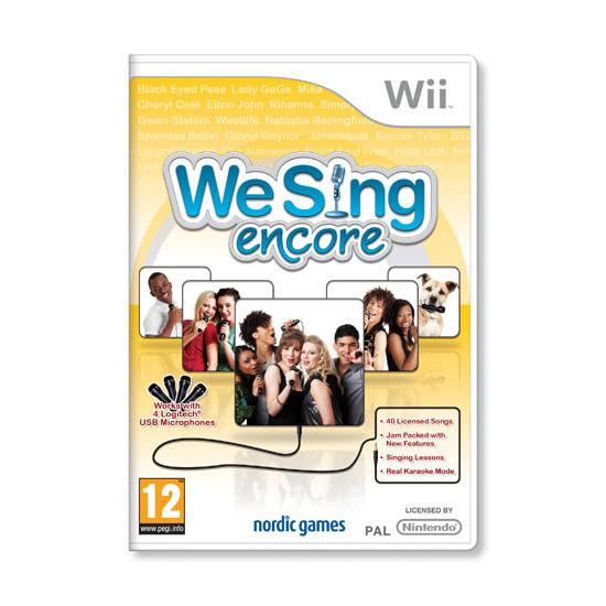We Sing: Encore (Wii)