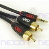 Photo of QED Profile Jack To Phono Cable - 1M Adaptors and Cable