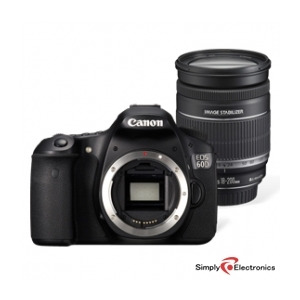 Photo of Canon EOS 60D With EF-S 18-200MM Lens Digital Camera