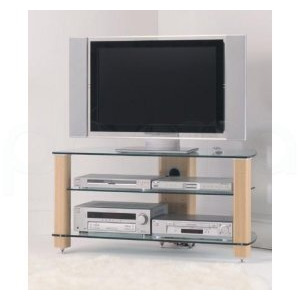 Photo of Stil Stand 3001 Plasma / LCD TV Glass / Wood Stand TV Stands and Mount