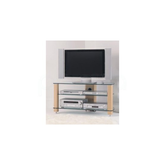 Stil Stand 3001 Plasma / LCD TV glass / wood stand