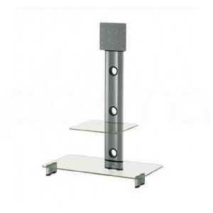 Photo of Optimum Elmob CY1144 Silver With Clear Glass TV Stands and Mount