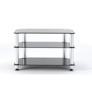Photo of Stil Stand 1401CHBL Glass LCD Stand TV Stands and Mount