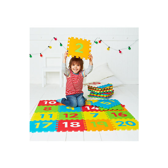 ELC Number Foam Playmat