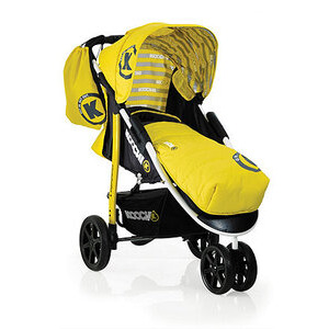 Photo of Koochi Pushmatic 3 Wheeler Stroller Baby Walker