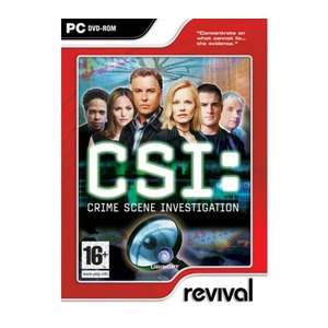 Photo of CSI: Crime Scene Investigation, PC CD-ROM Video Game